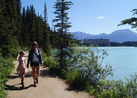 Travelnauts West-Canada - Lake Louise 2 x Travelnauts Canada  30pluskids