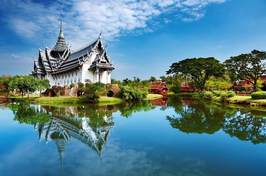 Thailand Bangkok Sanphet Prasat Palace