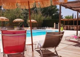 Rendez-vous in Roaix, Frankrijk zwembad Vakantieverblijf Rendez-Vous 30pluskids