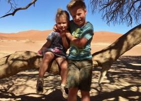 Travelnauts rondreis Namibie sossusvlei Safari, zandduinen, maanlandschappen in Namibië 30pluskids