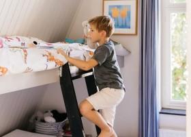 Buitenlust in Zeeland, Nederland kinderkamer Vakantiehuis Buitenlust 30pluskids