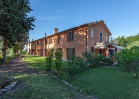 Countryhouse Montesoffio in Le Marche, Italie huis Country house Montesoffio 30pluskids
