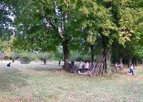 Chateau des Edelins in de Auvergne, Frankrijk kinderen spelen Chateau des Edelins 30pluskids