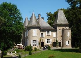 Chateau de Mialaret in de Correze, Frankrijk kasteel Domaine le Mialaret 30pluskids