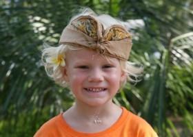 Riksja Family rondreis Bali kind Riksja Family Indonesie 30pluskids