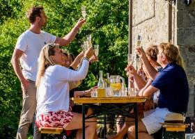 Novanta in Toscane, Italie wijnproeven Novanta 30pluskids