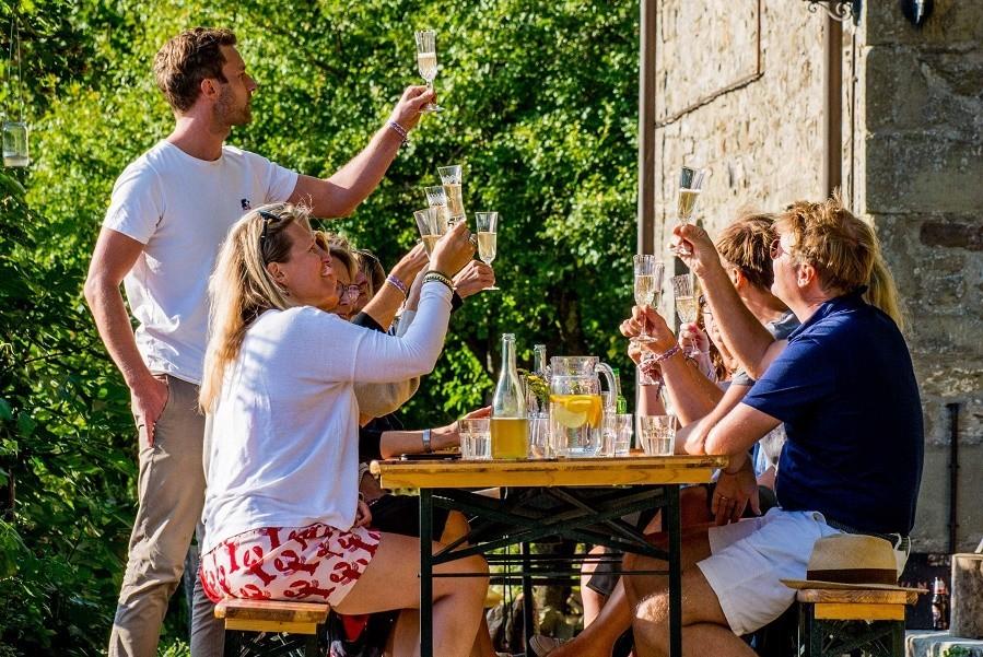 Novanta in Toscane, Italie wijnproeven Novanta 30pluskids image gallery