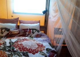 Quinta Japonesa Costa de Prata, Portugal safaritent Casa Matsu slaapkamer Quinta Japonesa 30pluskids
