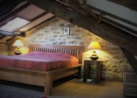 Les Quatre Toits in de Tarn-et-Garonne, Frankrijk  slaapkamer Domaine Les Quatre Toits 30pluskids