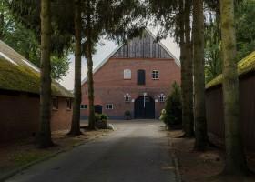 Landrijk De Reesprong in Twente, Nederland boerderij Landrijk de Reesprong 30pluskids