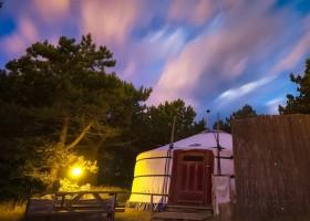 Texel Yurts yurt by night.jpg Texel Yurts 30pluskids