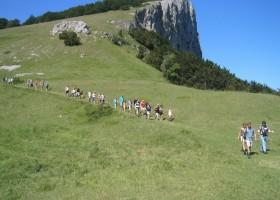 Tendi op Camping Gallo Romain in Barbières, Frankrijk wandelen Tendi op Le Gallo Romain 30pluskids