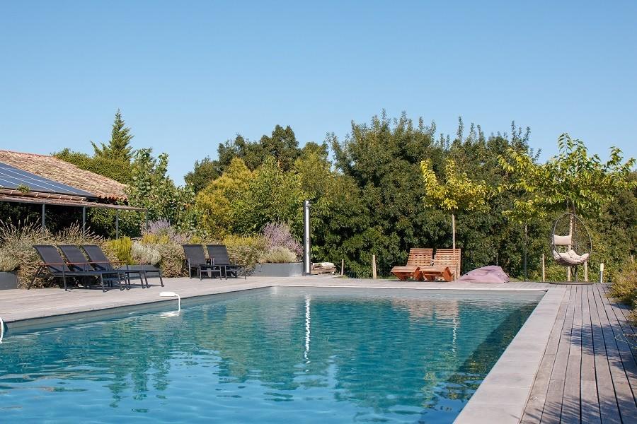 Domaine en Birbes in de Languedoc-Rousillon,  Frankrijk zwembad Domaine en Birbès 30pluskids image gallery