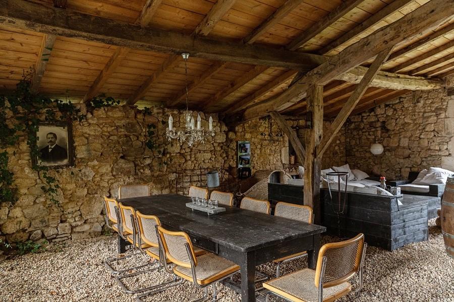 Maisons de Charme in Saint Martin de Gurson, Frankrijk tuinkamer Maison de Charme 30pluskids image gallery