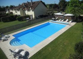 Les Chardonnerets in de Dordogne, Frankrijk huizen en zwembad Les Chardonnerets 30pluskids