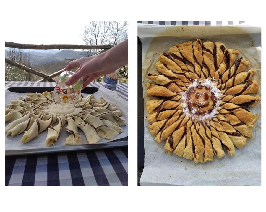 Agriturismo Crose in Piemonte, Italie recept Nutella-zon