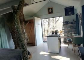 Bonneblond in de Auvergne, Frankrijk boomhuis binnen Landgoed Bonneblond 30pluskids