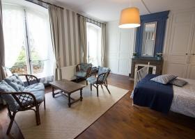 Domaine des Lilas in Saint Germain Lembron, Frankrijk kamer Domaine des Lilas 30pluskids