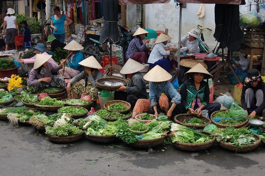 KidsReizen Vietnam Markt Mekong Delta KidsReizen Vietnam 21-daagse rondreis  30pluskids image gallery