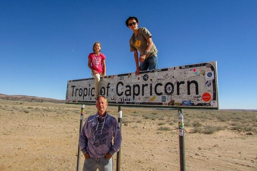 Travelnauts Namibië - Tropic of Capricorn Travelnauts 30pluskids image gallery