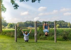 Landrijk De Reesprong in Twente, klimrekken met uitzicht Landrijk de Reesprong 30pluskids