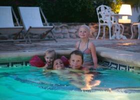 El Molino Santisteban in Guaro, Spanje zwembad met kids El Molino Santisteban 30pluskids