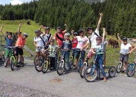 Berghotel Axx in Tirol, Oostenrijk steppen Berghotel Axx 30pluskids