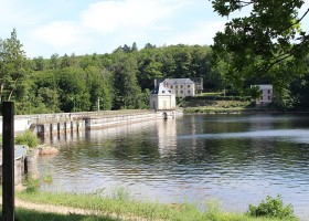 Vakantiehuis Bilok in de Bourgogne, Frankrijk omgeving Vakantiehuis Bilok 30pluskids