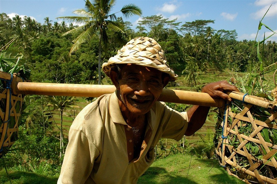 Riksja Family rondreis Bali werker Riksja Family Indonesie 30pluskids image gallery