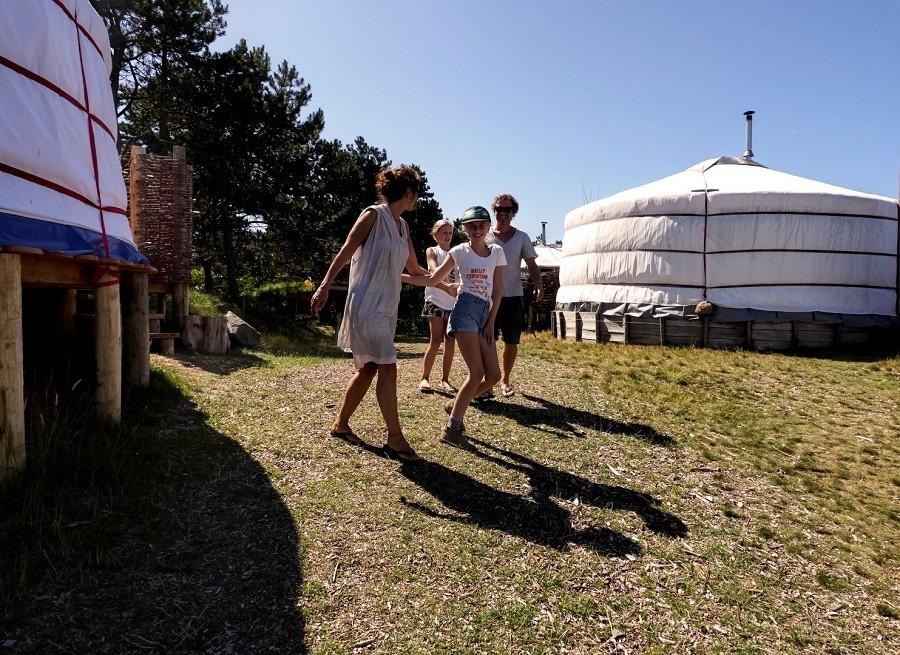 Texel Yurts pad.jpg Texel Yurts 30pluskids image gallery