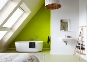 it Dreamlan in Friesland, Nederland design vakantiewoning bad it Dreamlân 30pluskids