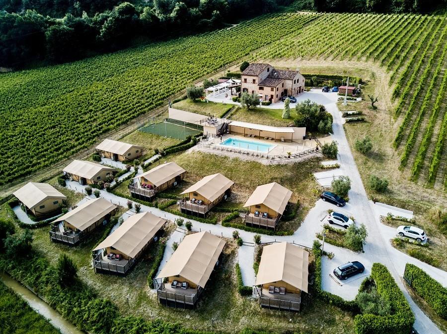 Villa Alwin in Le Marche, Italie overview Villa Alwin 30pluskids image gallery