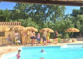 Rendez-vous in Roaix, Frankrijk zwembad 2 Vakantieverblijf Rendez-Vous 30pluskids