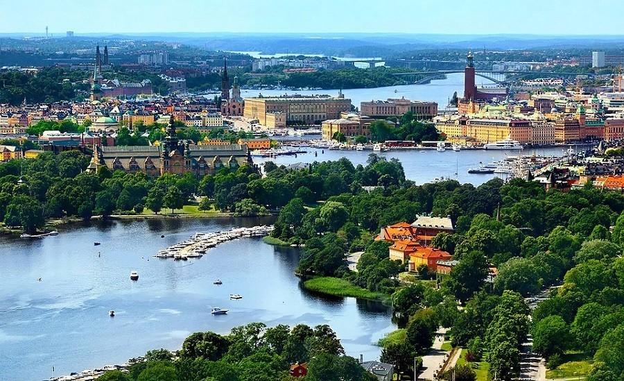 Travelnauts rondreis zweden-stockholm-eilandjes-stad-uitzicht Avontuurlijke rondreis door Zweden 30pluskids image gallery